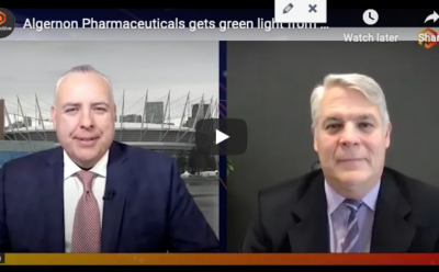 Proactive Investor – Interview with CEO Christopher Moreau regarding the approval from the Data and Safety Monitoring Board to continue the study
